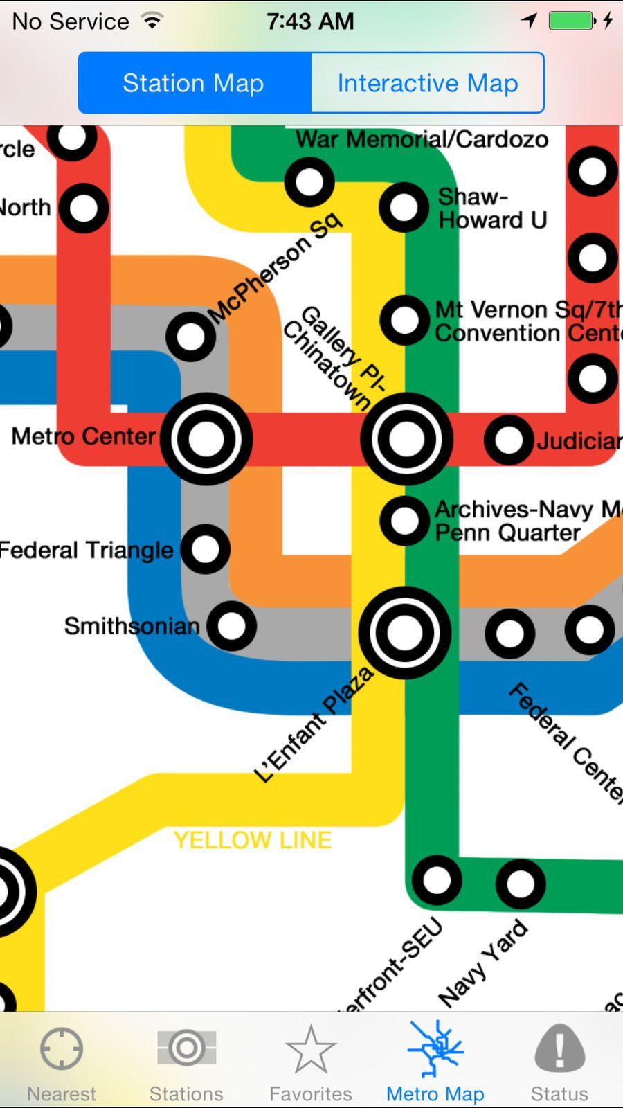 Next Metro DC TravelNavigationappsios Dc metro