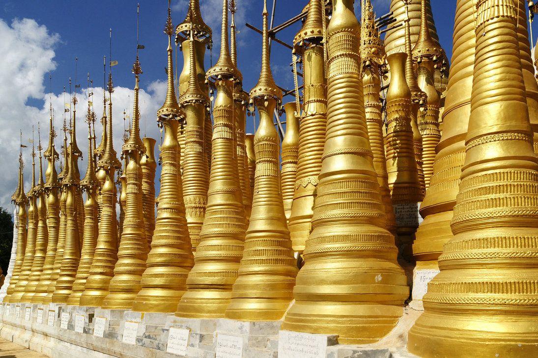 Shew Indein Pagoda - Myanmar