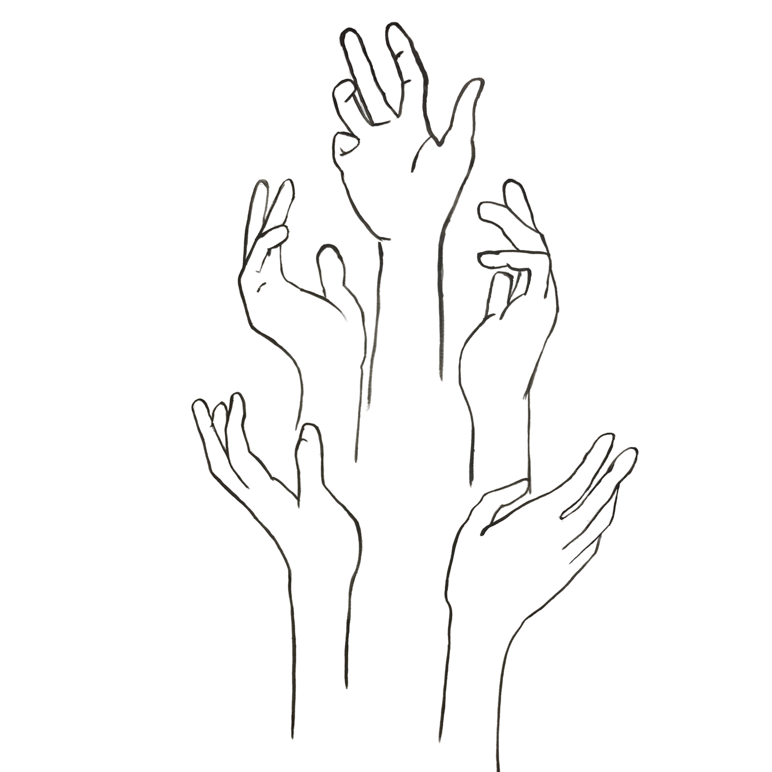 The Reaching Hands Of Success In 2020 Cool Art Drawings Art Reference Photos How To Draw Hands