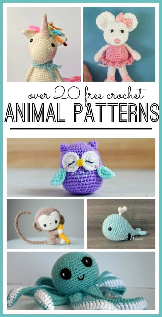 I love to crochet and recently went looking for a great animal crochet pattern! I ended up making this little guy and had a blast! I felt pretty accomplished and love how he looks. But there are also a ton of other cute ones out there that made it hard to choose… So what can …