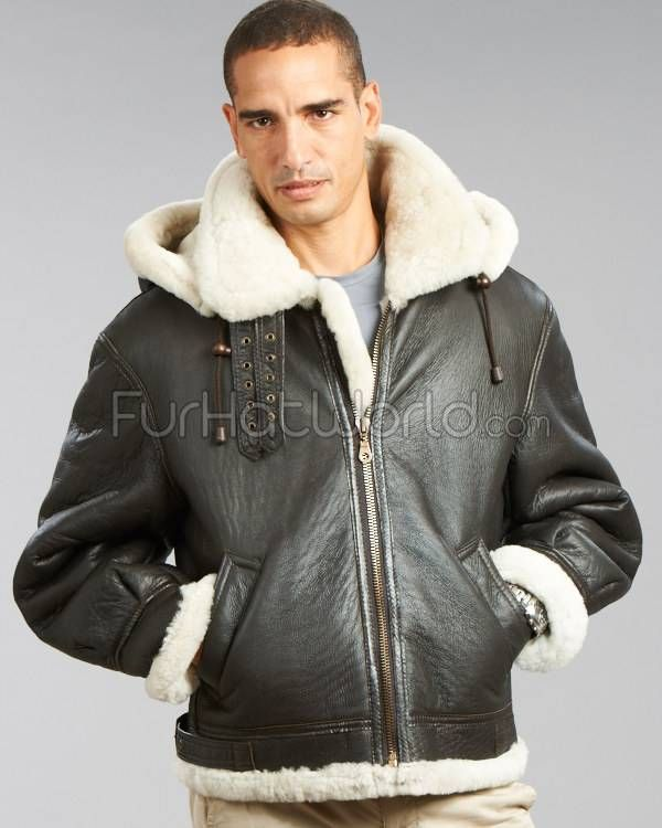 Mens Shearling Coat Sale Photo Album - Reikian