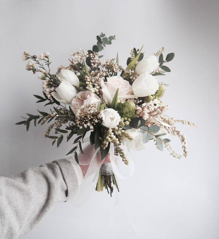 Katharina sagt ... ich liebe Blumen. Studiogeschichten. produziert professionelle Ko ... - Hochzeit. Fotografie #weddingbridesmaidbouquets