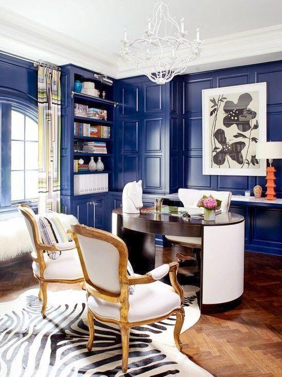 Bluetiful things   Decor and Design   Pinterest   Interiors, Desks