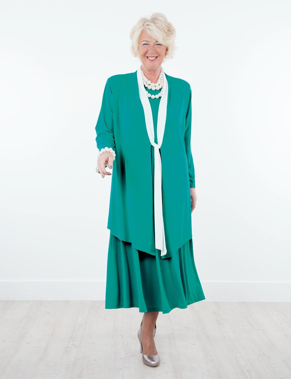 Jonquil Teal/Cream Jacket And Daphne Dress   vestidos   Pinterest ...