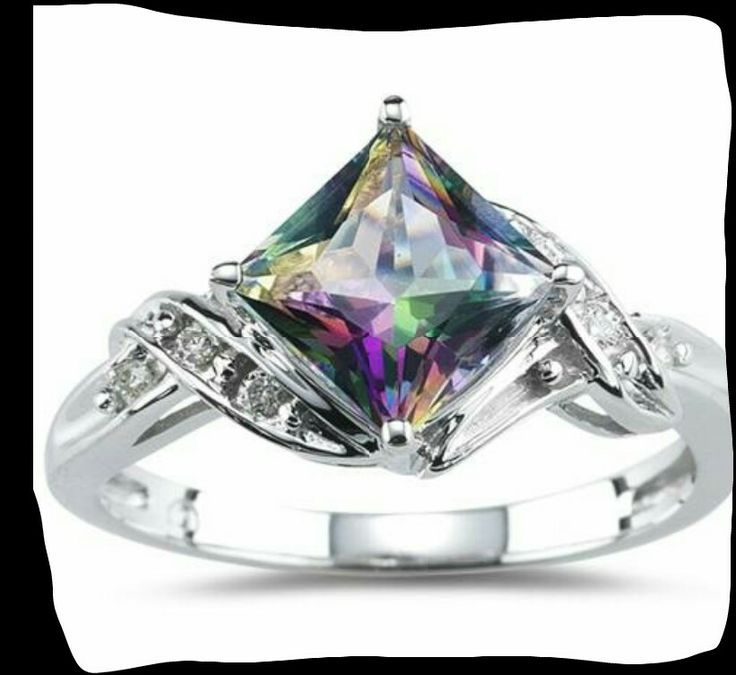 cz engagement mystic color multi jrose ring fire topaz item rings sterling jewelry hot rainbow silver wedding explosion