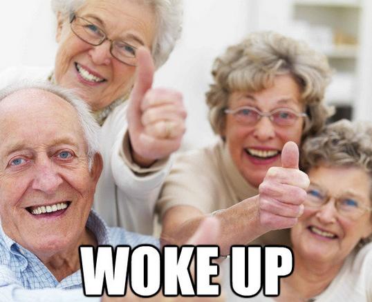 why old people are happy ba dum tss home activities nursing rh pinterest com