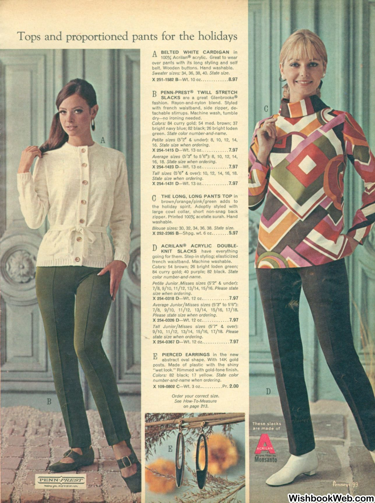 Jcpenney Christmas Catalog 2019 1967 JCPenney Christmas Catalog | Women's Fashion   1960's in 2019