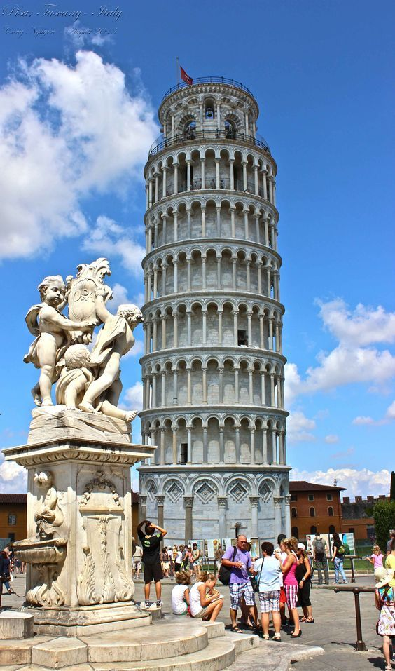 Leaning Tower of Pisa, Toscana, Italy