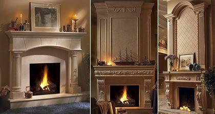 pin by mantels direct on cast stone fireplace mantels stone rh pinterest com