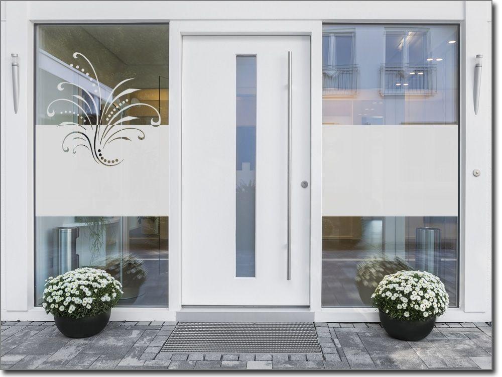 Sichtschutz Ornament Freude - folie für badezimmerfenster
