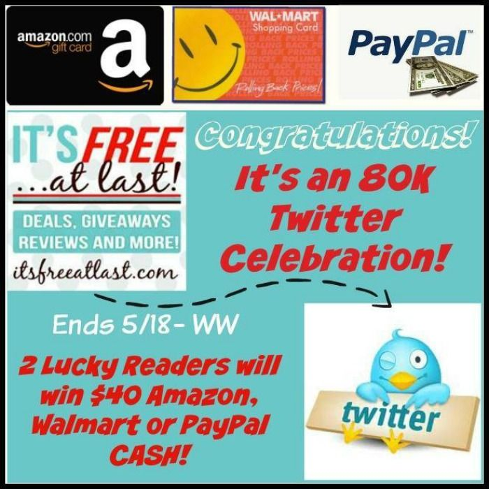 Win a $40 Walmart, Paypal or Amazon Gift Card! 2 WINNERS ...