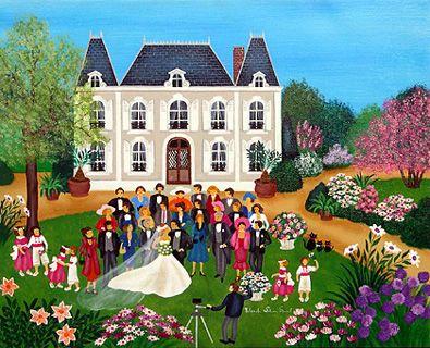 The Wedding by Yolande Salmon-Duval