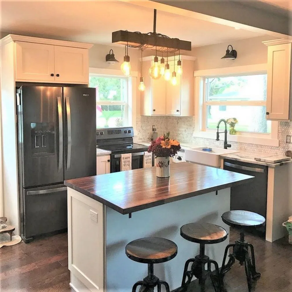 12 choose best color for small kitchen remodel 60 #kitchen ...