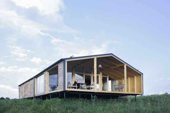 affordable prefab dubldom house starts at 23 000 modern prefab rh pinterest com