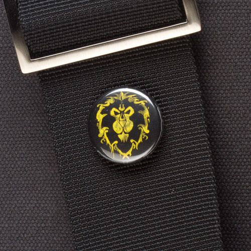 J!NX : World of Warcraft Alliance Spray Pin
