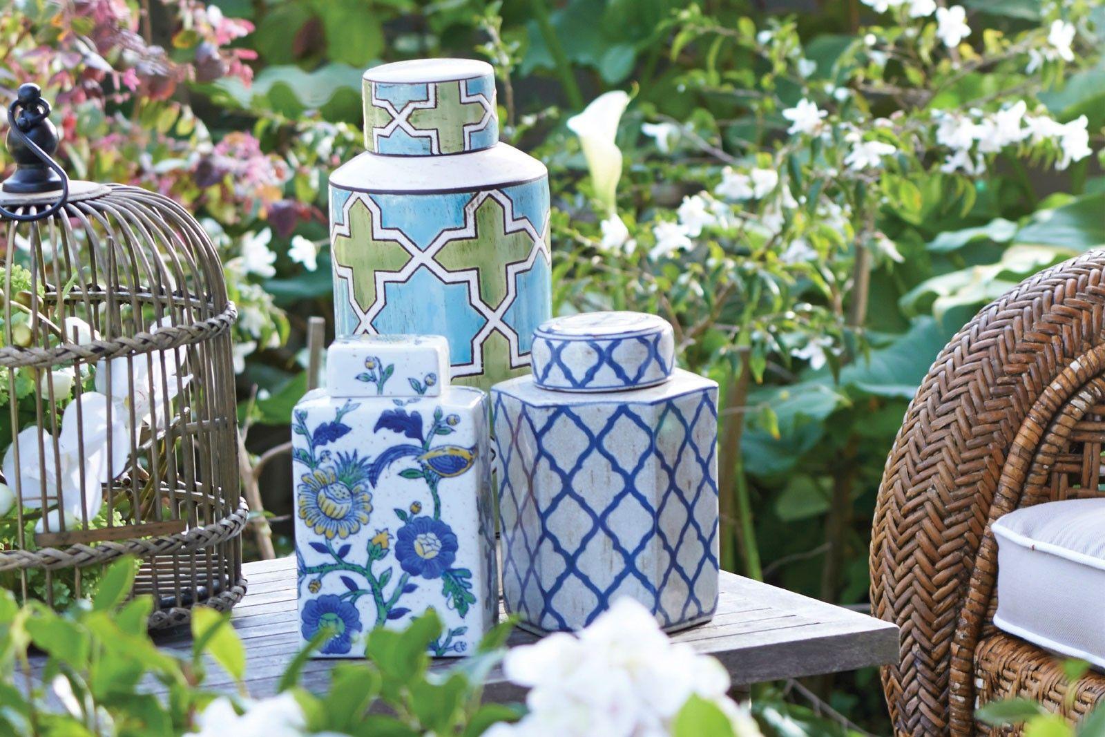 Ginger jars - Bed, Bath & table | Living room | Pinterest | Jar ...