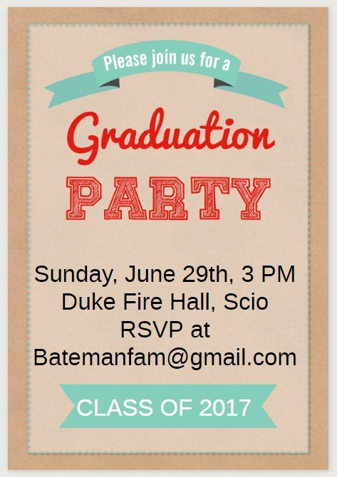 Save money with these free printable graduation invitations free save money with these free printable graduation invitations greeting islands free graduation party invitation filmwisefo