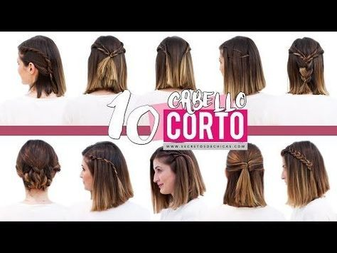 10 Peinados Faciles Para Cabello Corto O Media Melena Patry Jordan - Peinados-faciles-de-hacer-para-pelo-corto