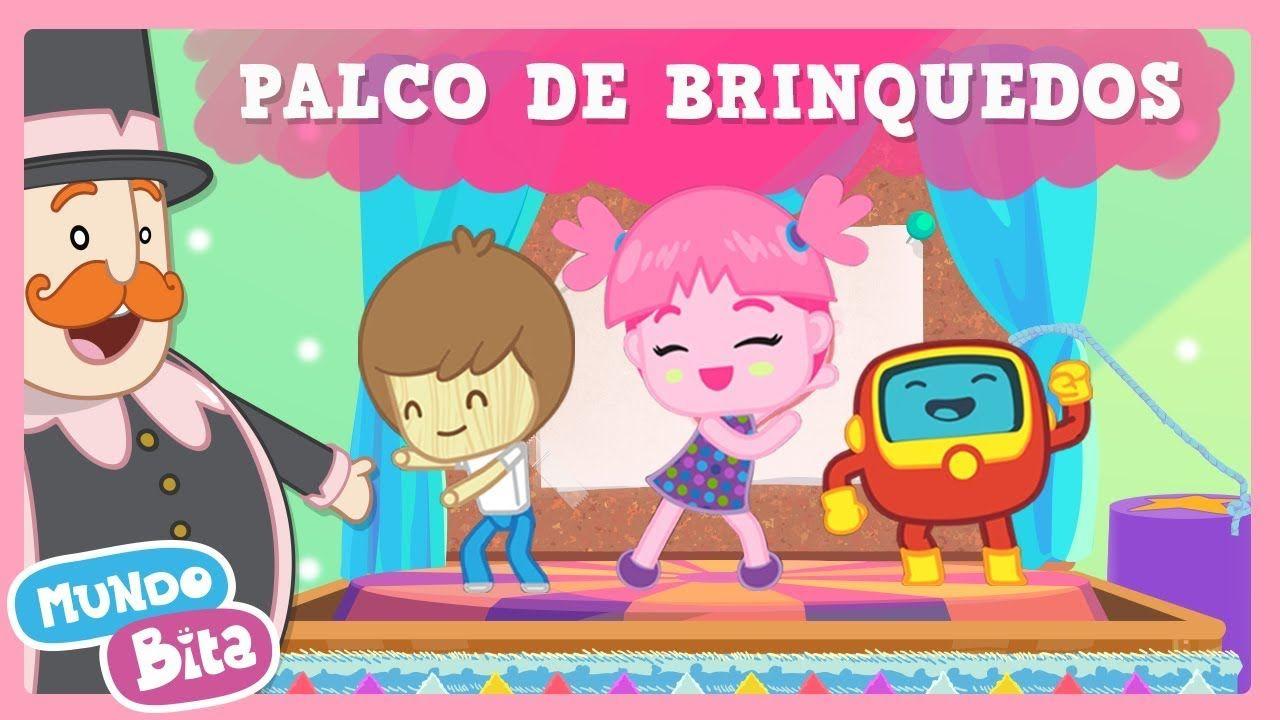 Mundo Bita Palco De Brinquedos Clipe Infantil Em 2020