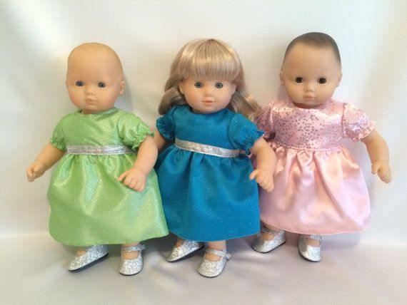"15"" Doll Princess Dresses for American Girl Dolls"