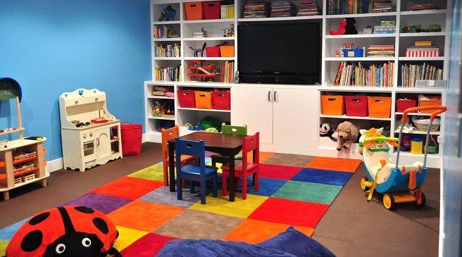 Ideas para decorar un cuarto de juegos | Ideas casa | Pinterest ...