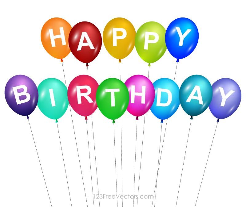 happy birthday balloons clip art happy birthday balloons happy rh pinterest com Happy Birthday Cake Clip Art Happy Birthday Clip Art Blue