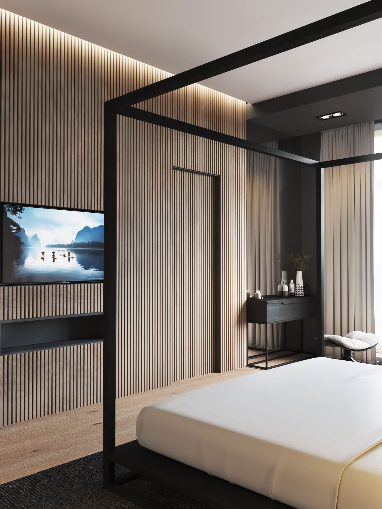 master bedroom on Behance   Design in 2018   Pinterest ...