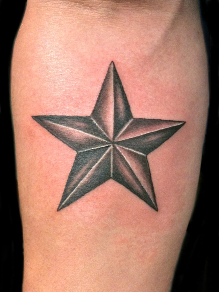 Awesome Star Tattoos Designs In 2020 Nautical Star Tattoos Star Tattoos For Men Star Tattoos