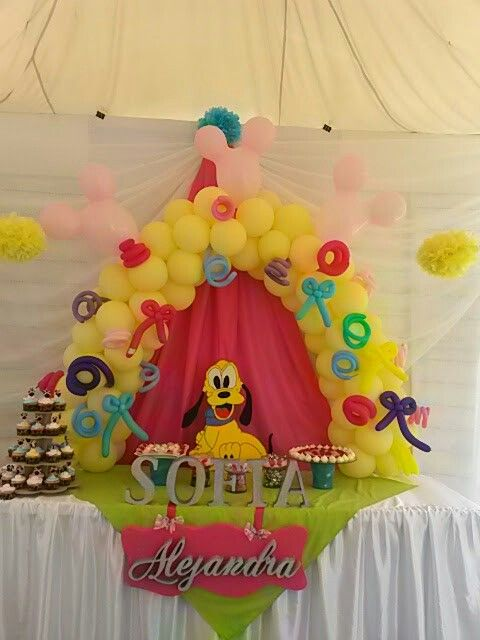 Mini Arco #balloonsparty #decoraciones #globos #detalles