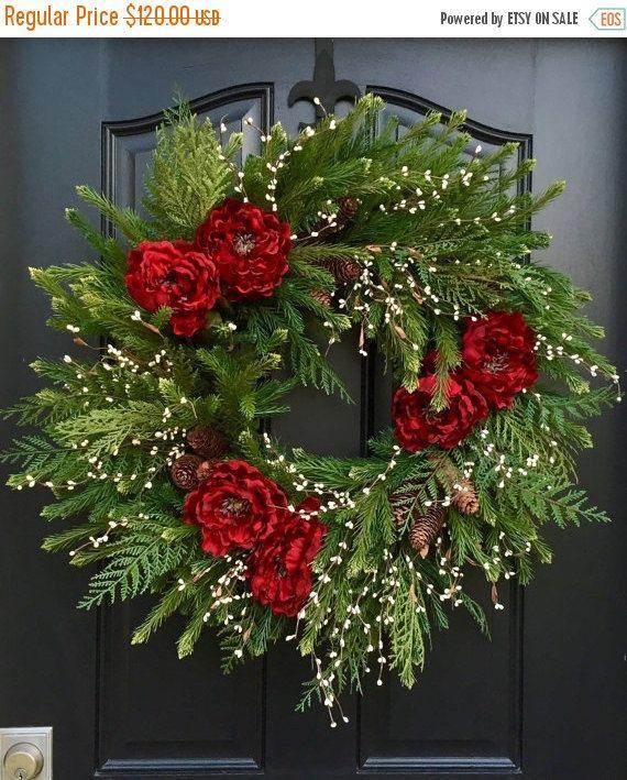 WREATH SALE Black Friday Christmas Wreath By Twoinspireyou