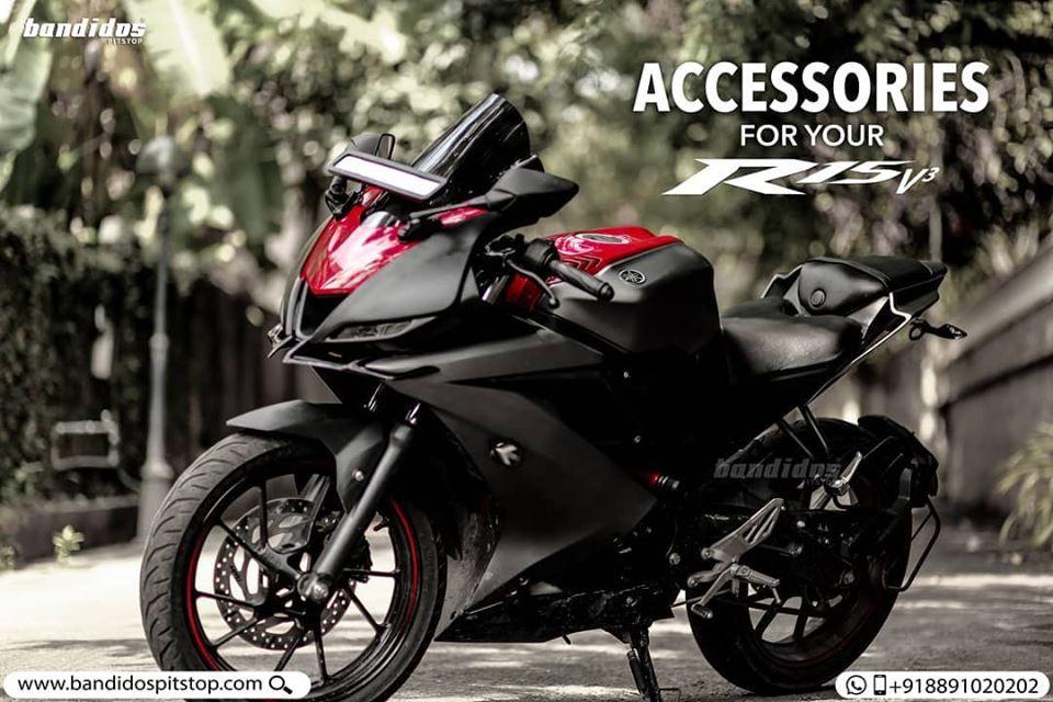 Accessories For R15 V3 Bike Pic R15 Yamaha Yamaha Bikes