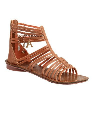 4ff5f6b3920 Take a look at this Light Brown Lilou W Gladiator Sandal - Women by Kickers  on  zulily today!