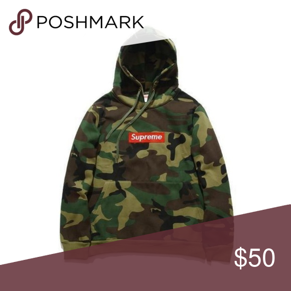 Supreme Hoodie - Camoflauge Camouflage authentic supreme hooded sweatshirt  warehouse sale Supreme Sweaters f2975f6125ba