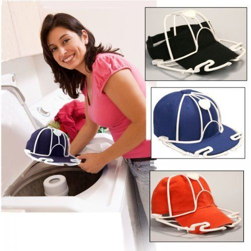 Ball Cap Washer Set Of 3 Assorted Black Or White 12 H X 8 5 W X 4 5 D By Perfect Curve 19 99 Set Of 3 How To Wash Hats Ball Cap