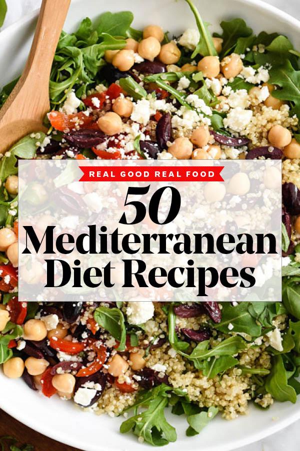 50 Favorite Mediterranean Diet Recipes | foodiecrush .com
