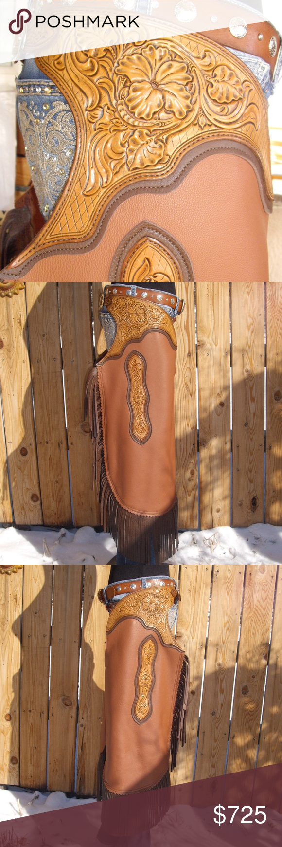 Custom Fl Carved S Chaps Leather Because Every Ride In The Arena Is A Fashion