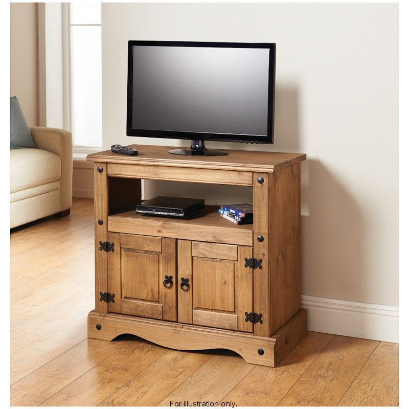 Rio Media UnitTV StandSolid Natural Waxed Pine