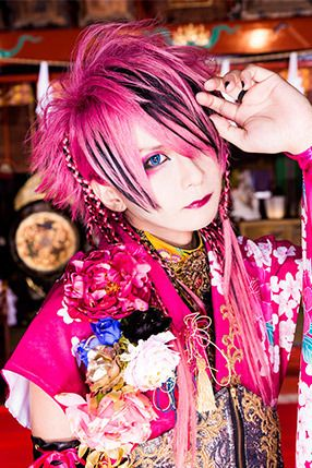 Bass Hiyori Isshiki 一色日和 V系 髪型 ビジュアル系 メイク ビジュアル系
