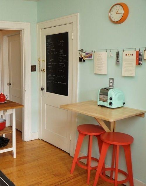 mesas para cocinas pequeñas 1 | espacios chicos, ideas grandes en ...