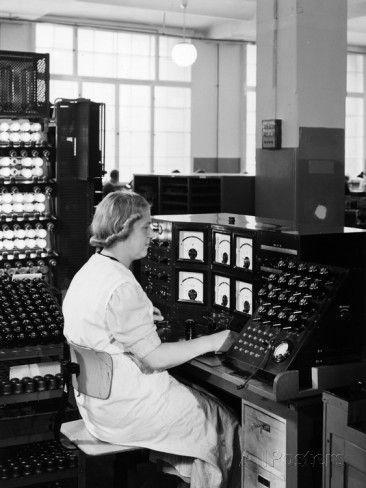 Telefunken studio equipment 1930's.