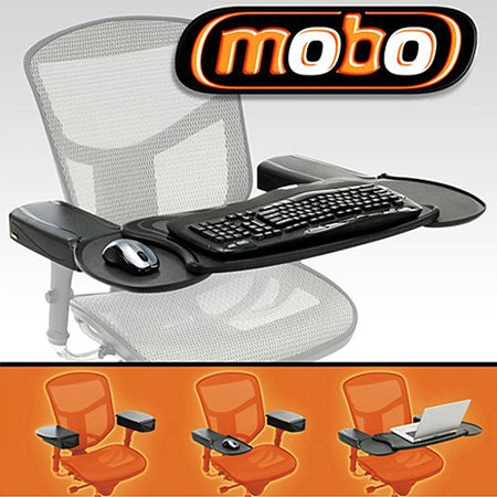 Ergoguys Mobo Chair Mount Keyboard And Mouse Tray System W In