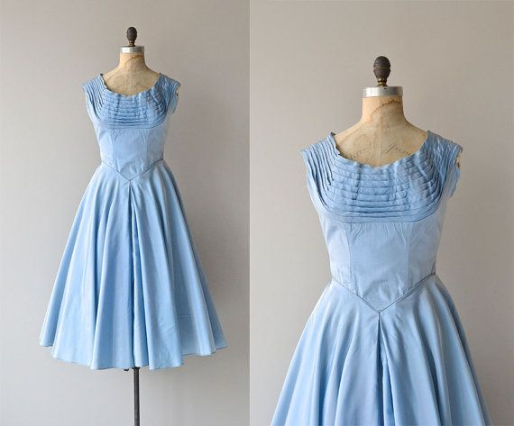 Traumerei Kleid  Vintage 50er Jahre Kleid  Fred von DearGolden