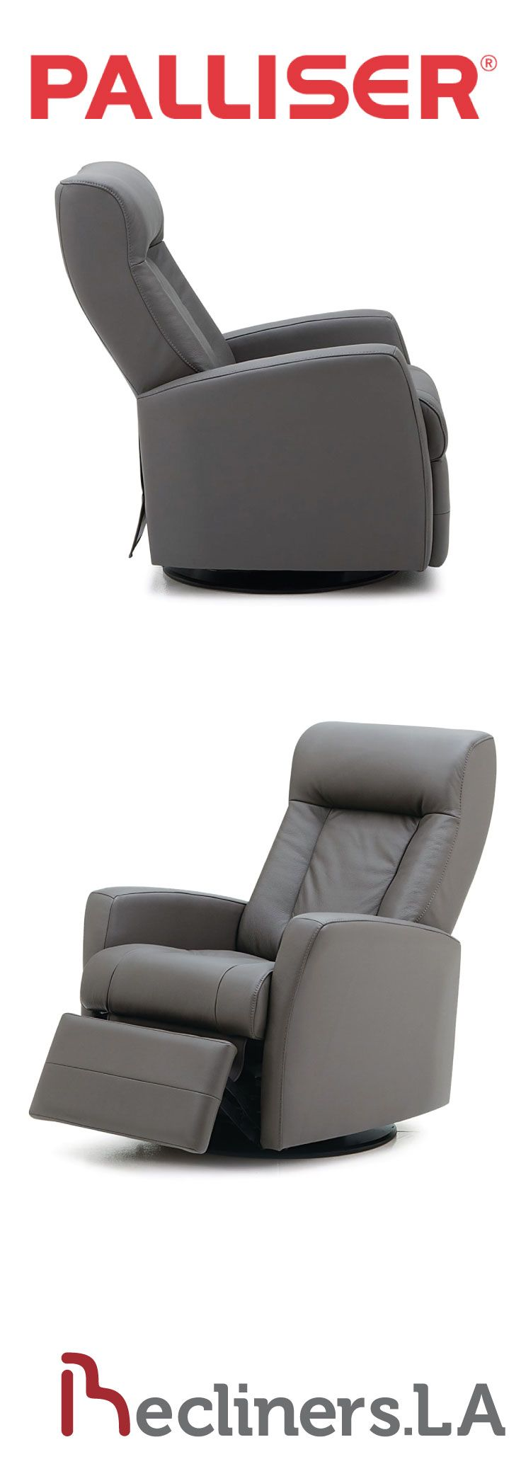 Palliser Leather Recliner Integrated Foot Rest Ottoman  Http://www.recliners.la/