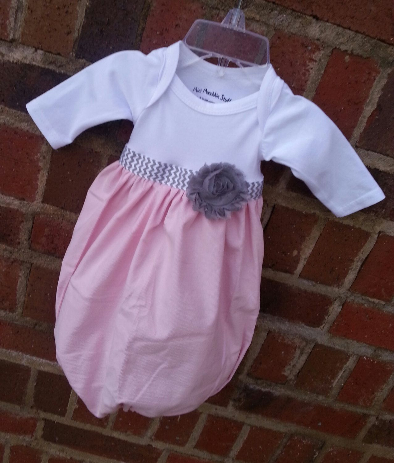 Baby layette gown diva sack coming home by minimunchkinstuff, $36.00 ...