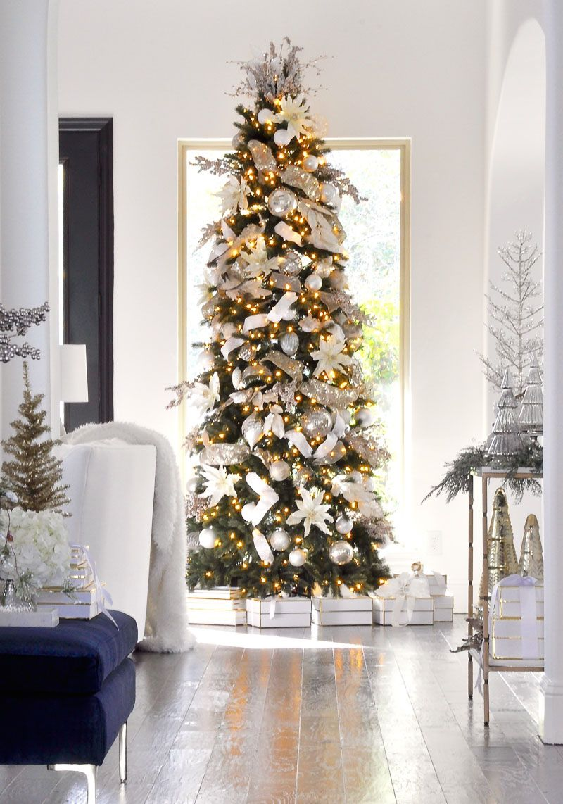 Simply Christmas Home Tour - Featuring | Holidays, Christmas tree ...