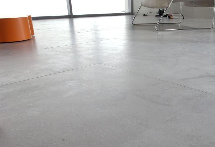Gres porcellanato effetto resina spatolata flooring