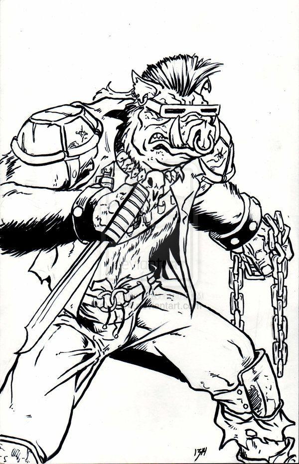 Bebop By 1314 On Deviantart Ninja Turtles Art Art Inspiration