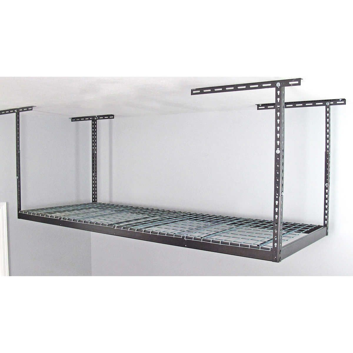 SafeRacks 3 ft x 8 ft Overhead Garage Storage Rack