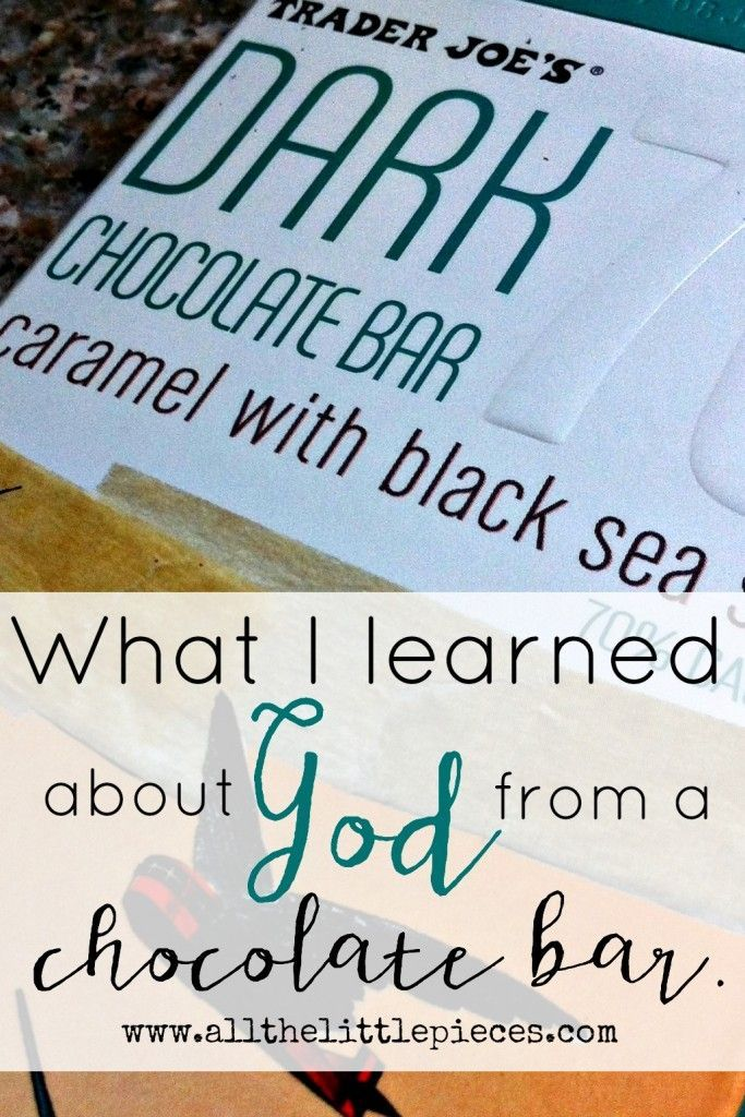 It's nothing new for me to consider chocolate a spiritual experience. But this time it went a bit further than normal. If you love dessert AND inspiration, you dont want to miss this encouraging read.