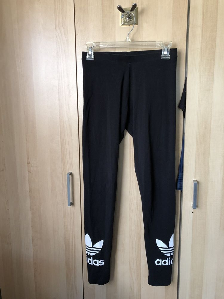 d1bfe787a2f NEW WOMEN'S ADIDAS ORIGINALS TREFOIL LEGGINGS [AJ8153] BLACK//WHITE  #fashion #clothing #shoes #accessories #womensclothing #activewear (ebay  link)